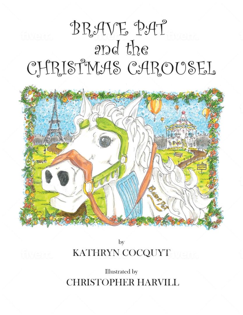 Brave Pat and the Christmas Carousel Front